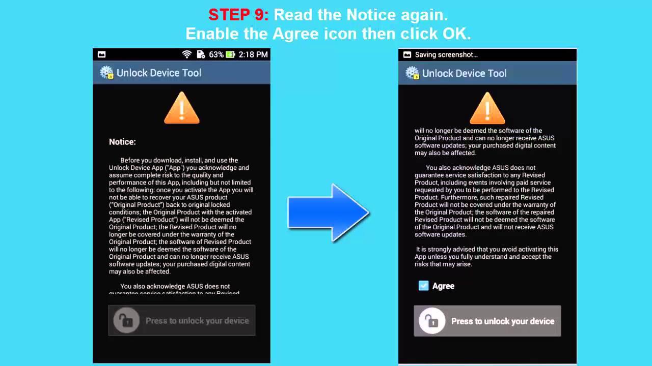 Unlock ASUS Zenfone Laser bootloader - official bootloader unlock