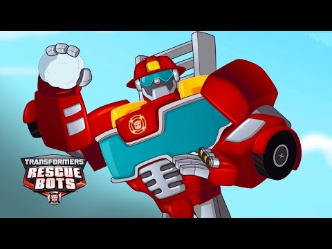 Transformers: Rescue Bots Season 1 - 'Snowball Fight!' Official Clip