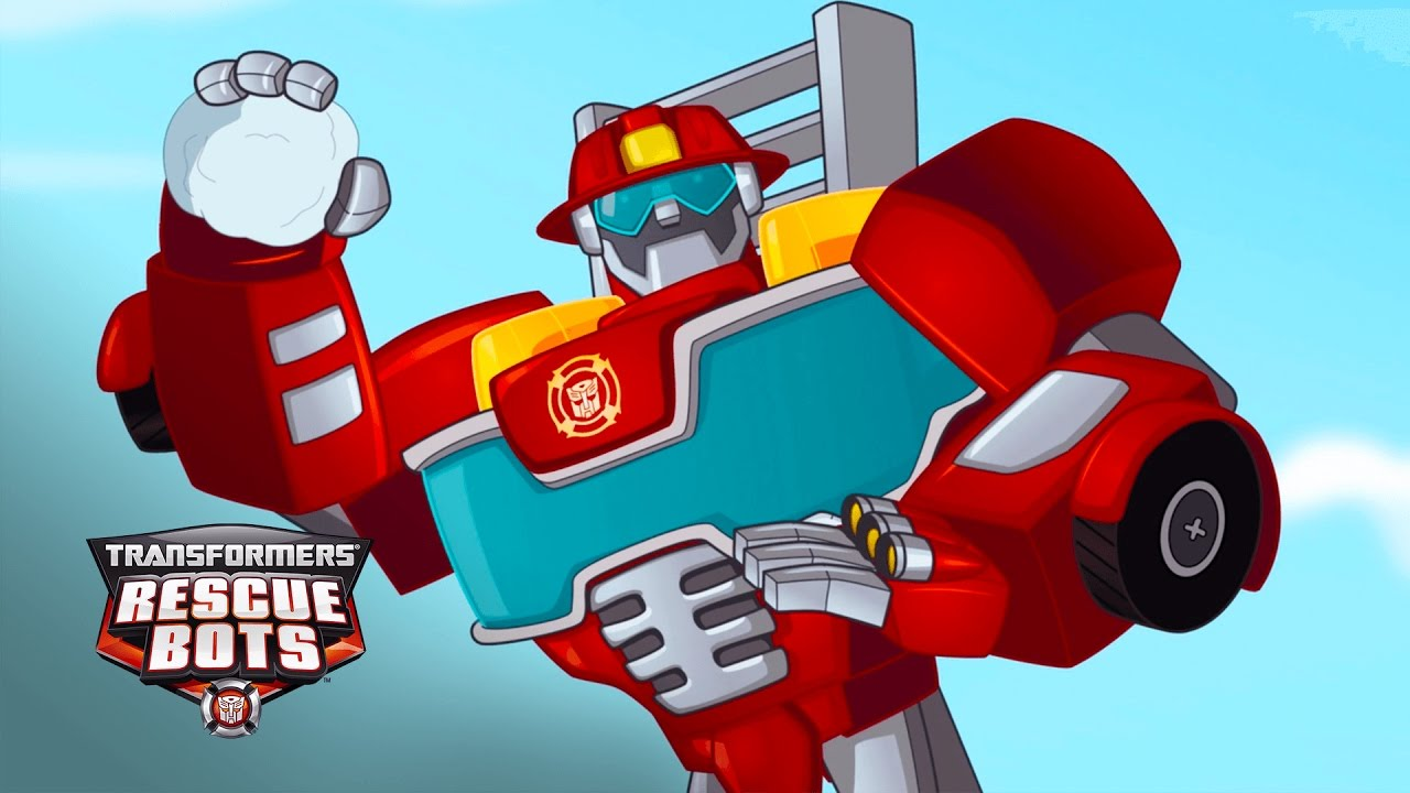 transformers rescue bots season 1 snowball fight