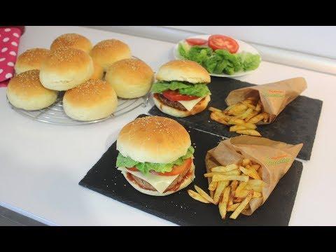 Gerçek Hamburger Tarifi / En iyi Hamburger Ekmeği ve Köftesi Nasıl Yapılır / Hayalimdeki Yemekler