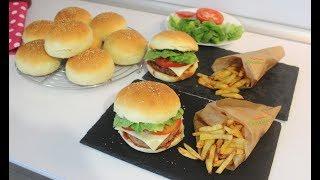 Gerçek Hamburger Tarifi - En iyi Hamburger Ekmeği ve Köftesi Nasıl Yapılır - Hayalimdeki Yemekler