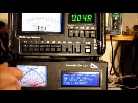 MeterBuilder MB-1 Custom Coupler Calibration using a $3 Coupler