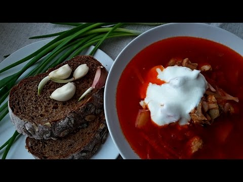 Украинский борщ - рецепт приготовления настоящего украинского борща Вкусный Борщ - Рецепт.