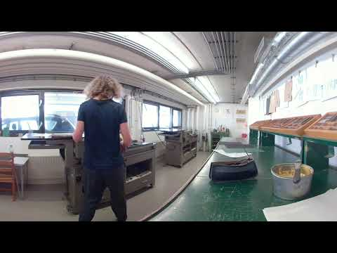 360 view Typesetting Workshop - Royal Academy of Art, The Hague (KABK)