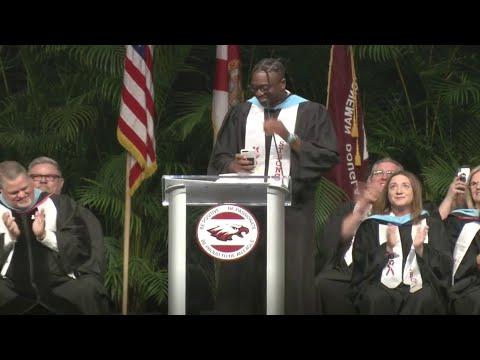 Jodi Stewart - Dwayne Wade Surprised The Graduation Class in Parkland at MSD H.S.