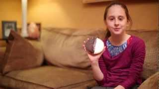 Miss Kathy Eats A Black And White Cookie