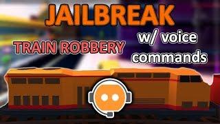 Roblox VC // Jailbreak Train Robbery