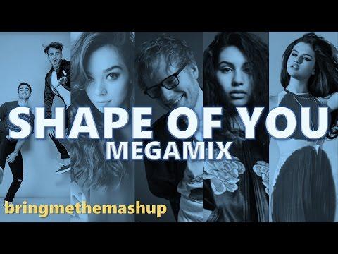 SHAPE OF YOU (Megamix) | Ed Sheeran, Ariana Grande, Alessia Cara, The Chainsmokers & More (Mashup)