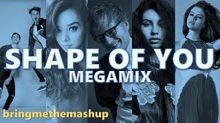 SHAPE OF YOU (Megamix) | Ed Sheeran, Ariana Grande, Alessia Cara, The Chainsmokers & More (Mashup) Mp3