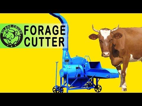 6000kg Forage Process Cutting Chopping Farm Machinery