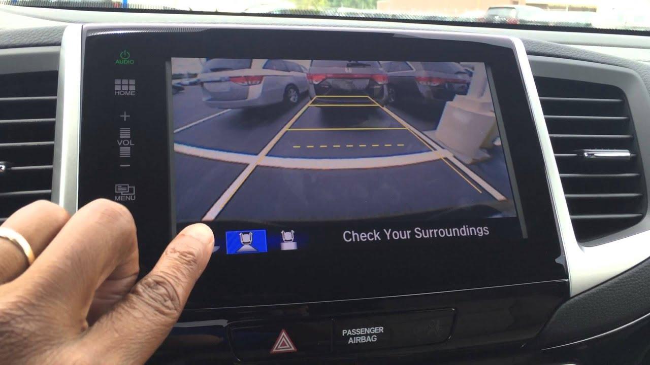 Honda Multi View Back up camera - YouTube
