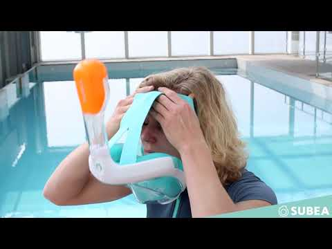 How to Use the EasyBreath Snorkel Mask