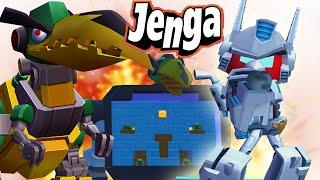 Jenga Angry Birds Transformers: Grimlock Jazz