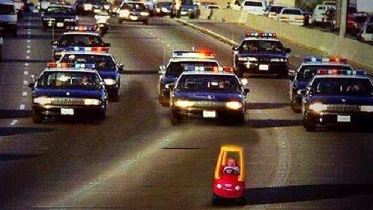 10 CRAZIEST Police Chases Caught On Camera - YouTube