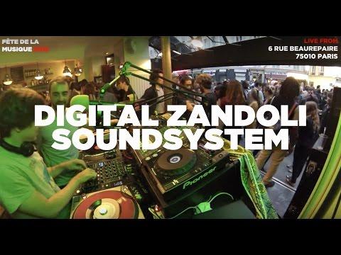 Tropical Block Party • Fête de la Musique (4/5) • Digital Zandoli Soundsystem • LeMellotron.com
