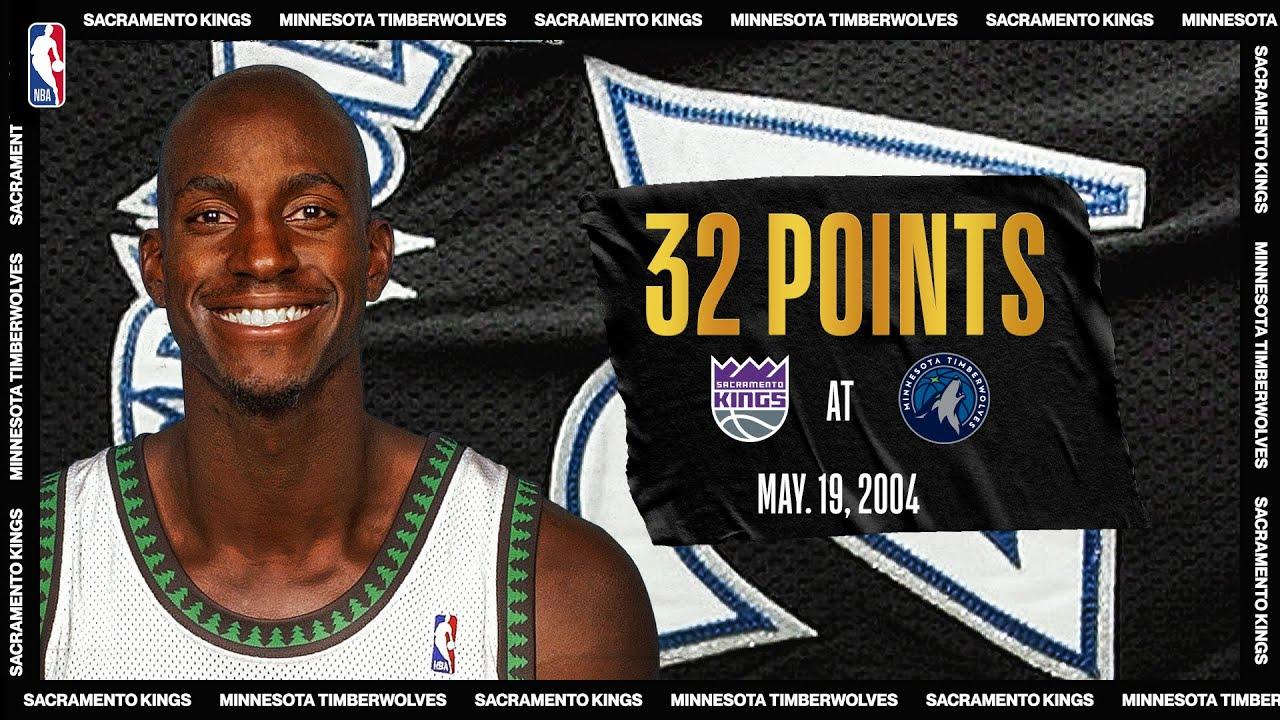 2004 WCSF Game 7 | Sacramento Kings @ Minnesota Timberwolves | May 19, 2004 | #NBATogetherLive