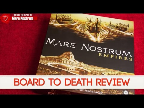 Mare Nostrum Video Review - Board to Death
