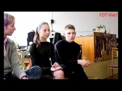 interview with Iliya Tihomirov and Valeriya Lobach