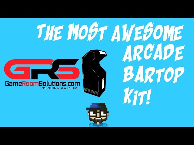 BEST ARCADE BARTOP KIT - GREAT PRICE - EASY TO ASSEMBLE!
