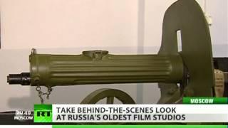 Behind-the-scenes look at Mosfilm studio, home of Soviet Movie making