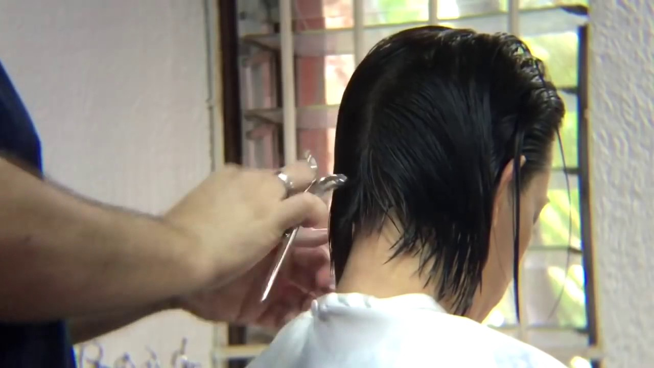 Cara potong bob bob hairs tutorial potong bob - YouTube 6393b1dd8f