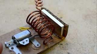 Безтопливный генератор на магните (не рабочий) / free energy generator (not working)