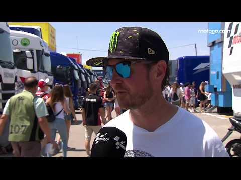 USA Supercross & NASCAR stars in the paddock