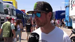 USA Supercross & NASCAR stars in the paddock