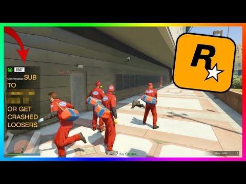 Rockstar's Latest GTA 5 Online Livestream Was An Absolute Disaster...