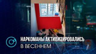 Наркоманы атаковали  подъезд дома в Первомайском районе Новосибирска