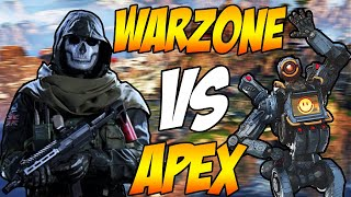 COD Warzone VS Apex Legends! Which Game Is Better?
