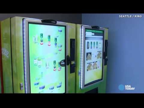 Marijuana vending machines debut in Seattle