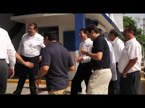 Inauguracion Mobil Oil Express Veracruz