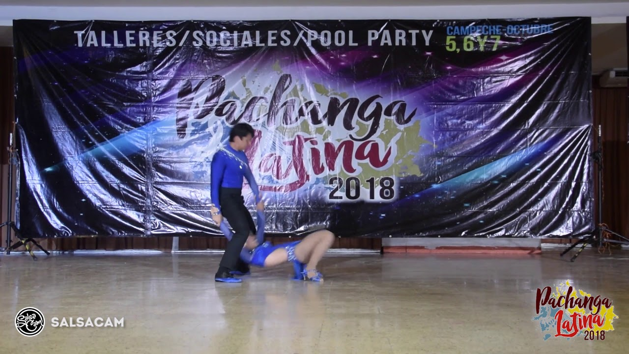 PACHANGA LATINA 2018 Carolina Y Daniel 12 - YouTube