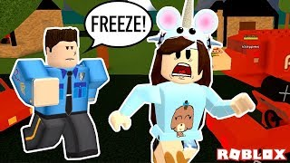 DOING ILLEGAL STUFF IN WORK AT A PIZZA PLACE! ROBLOX