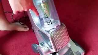 Electrolux precision Brush roll clean  test run