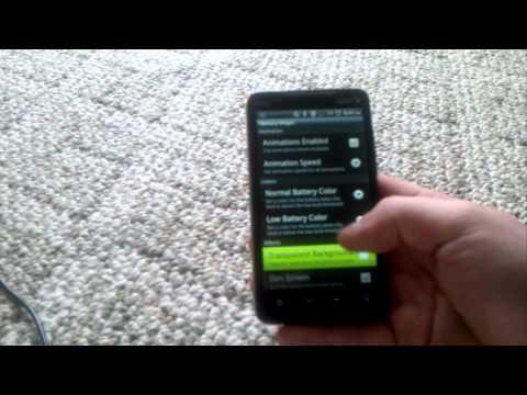 Talking Battery Widget