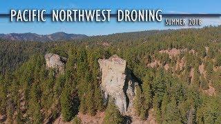 Pacific Northwest Droning - Summer 2018 //  DJI Mavic Air HD
