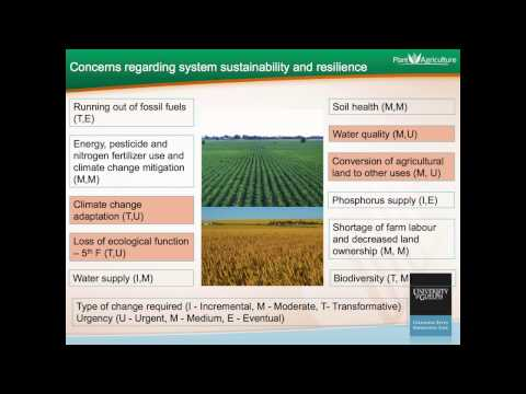Changing Demands on Agricultural Land: Are Reforms Urgent? Part 2