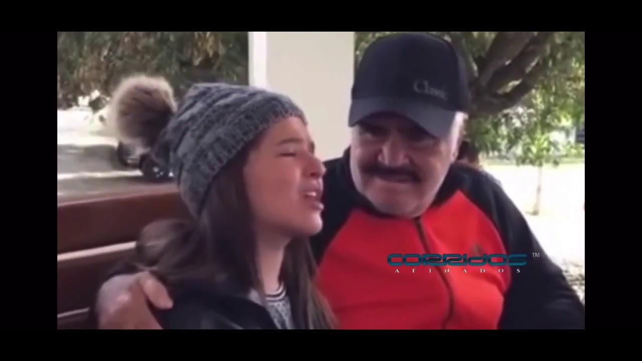 Fatima Campo Le Canta A Vicente Fernández- Imperioimposible 👑