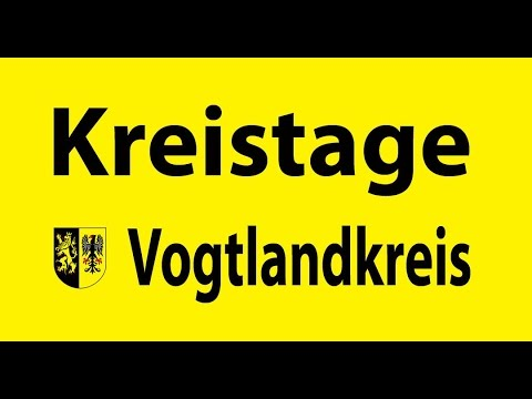 Kreistage im Vogtlandkreis 1996 bis 2016