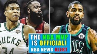 The NBA MVP Is Official! Kyrie Irving Makes The Boston Celtics Worse? | Breaking The NBA News Alert