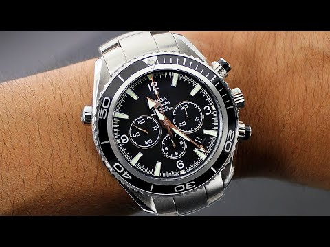 Omega Watches - Omega Seamaster Planet Ocean Mens Watch Review