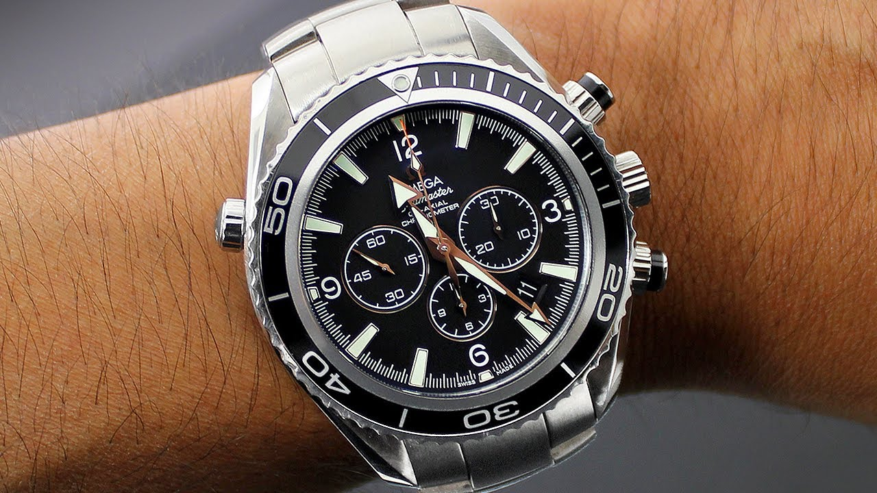 947bdcc25a754 Omega Watches - Omega Seamaster Planet Ocean Mens Watch Review - YouTube