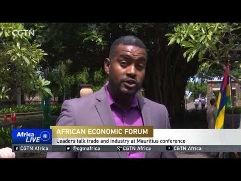 Leaders gather in Mauritius for the first African economic forum