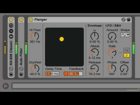 Ableton Live FastTrack 204: Live's Time and Space FX - 10. Flanger