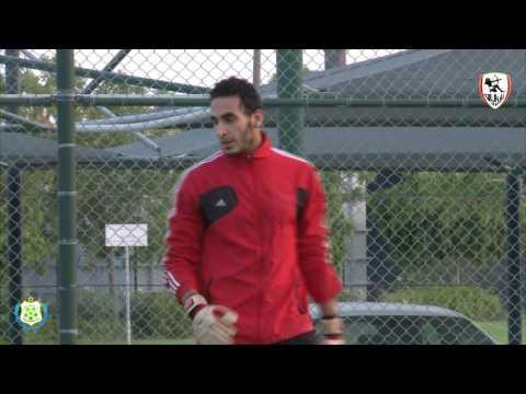 Mustafa El-Sayed Zamalek And Ismaily Goalkeeper training