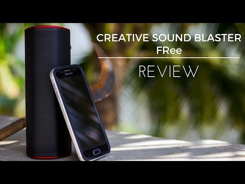 Creative Sound Blaster FRee Bluetooth Speaker Review - Best Value For Money?!?