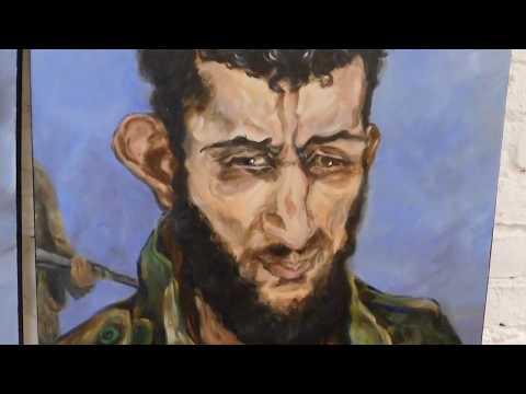 Ursula Behr: Syrienbilder nach Ausstellung in Berlin jetzt in Damaskus angekommen (antikriegTV)
