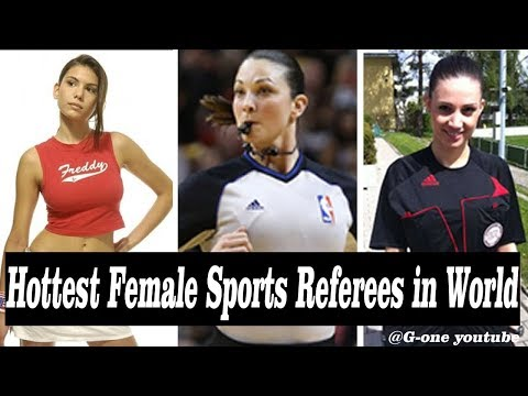 Hottest Female Sports Referees in World 2018 by G-one Youtube